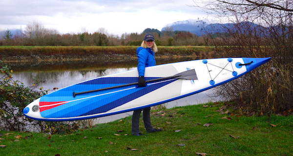 Inflatable Racing SUP Review