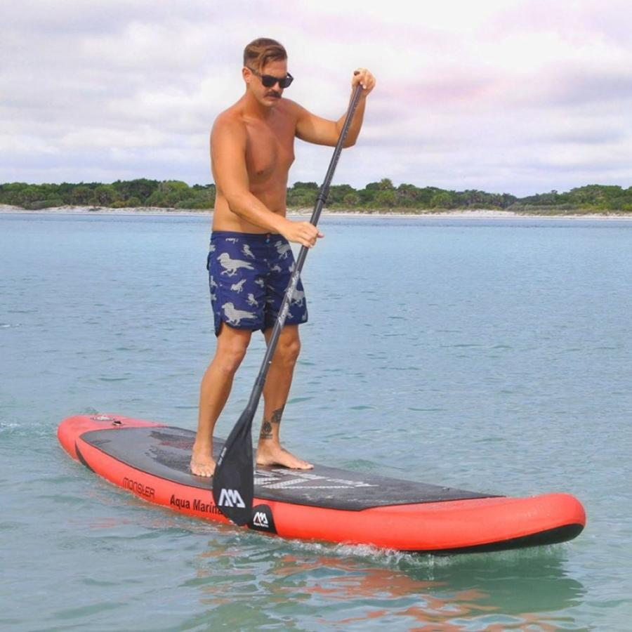 Paddleboard AquaMarina SUP Monster Una tabla muy resistente y duradera 4