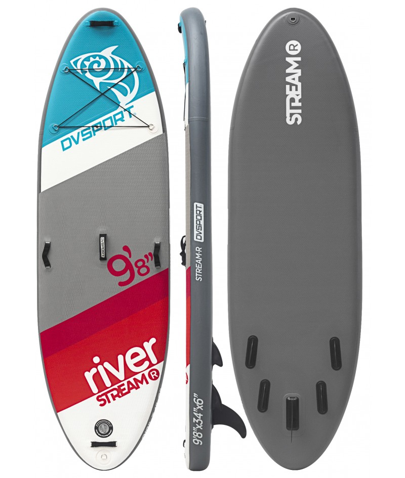 Tabla de Paddle Surf Stream River Sup de Dvsport