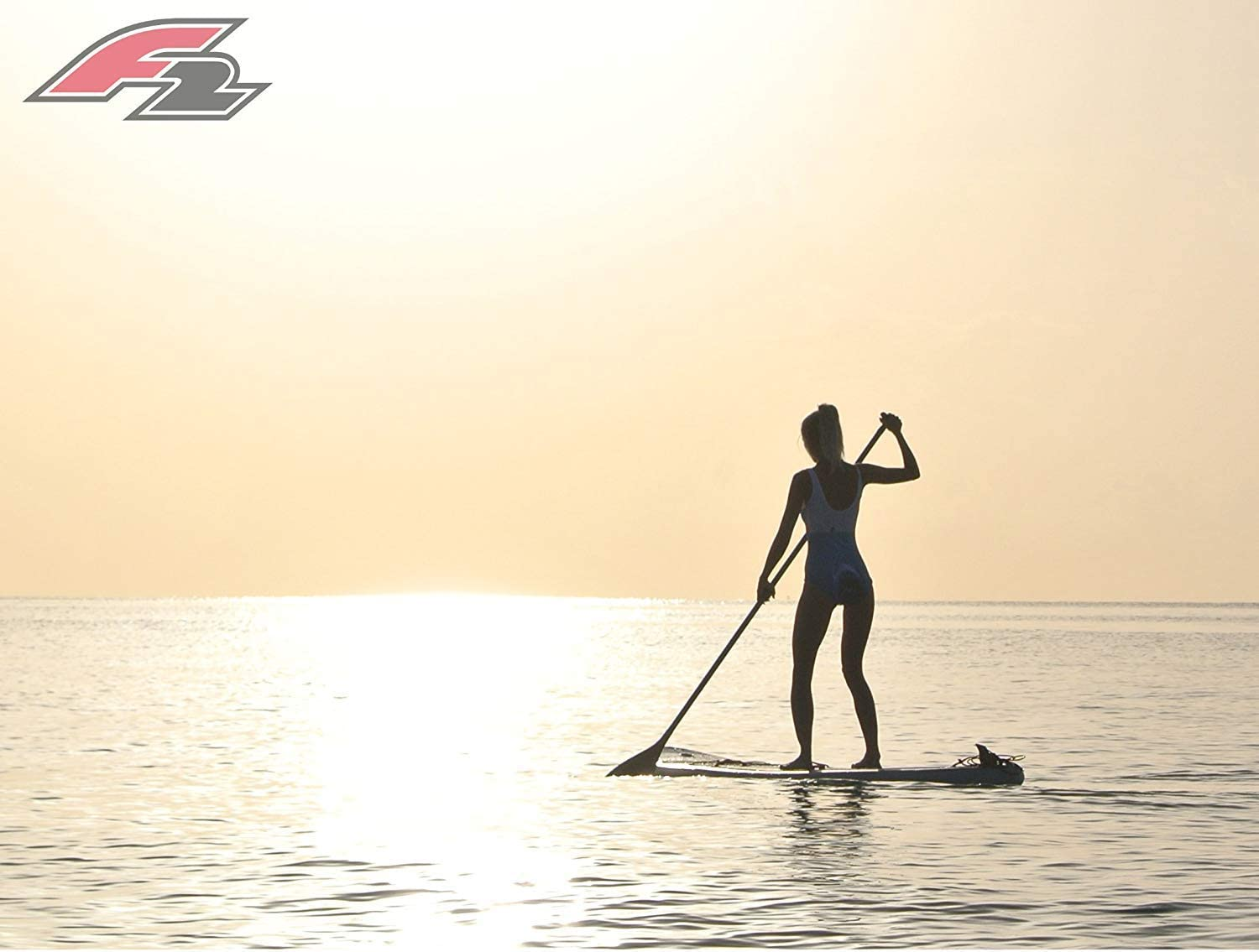 Solo paddle surf